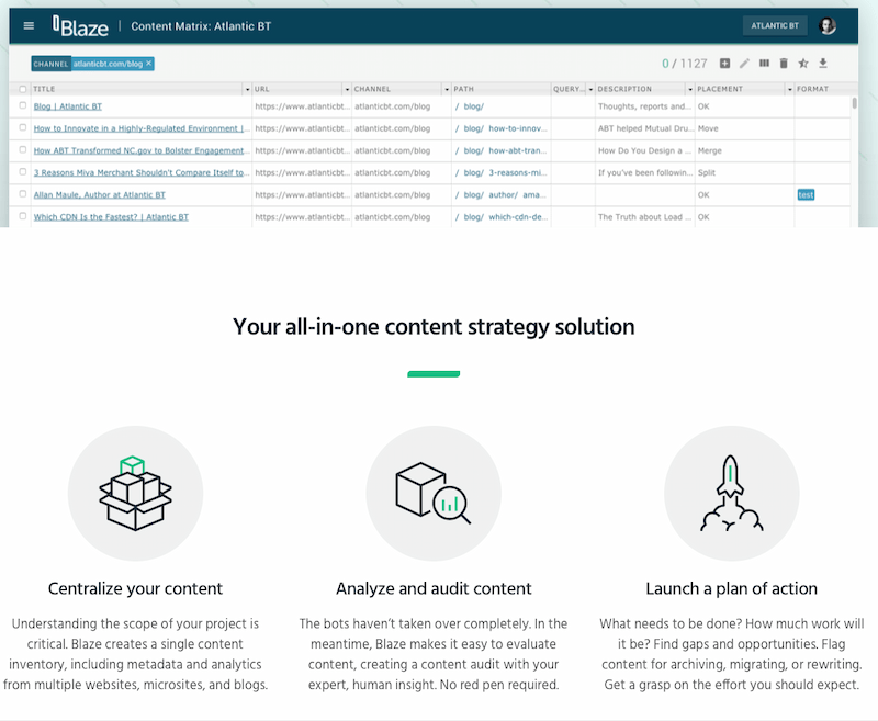 Content Audit - Content Inventory and online tool we recommend is Screaming Frog