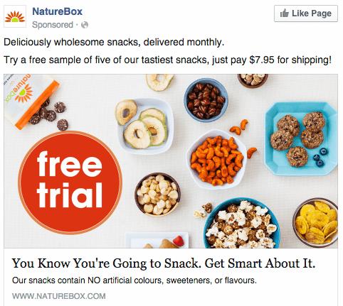 Naturebox Remarketing Banner