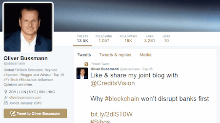 Oliver Bussmann twitter