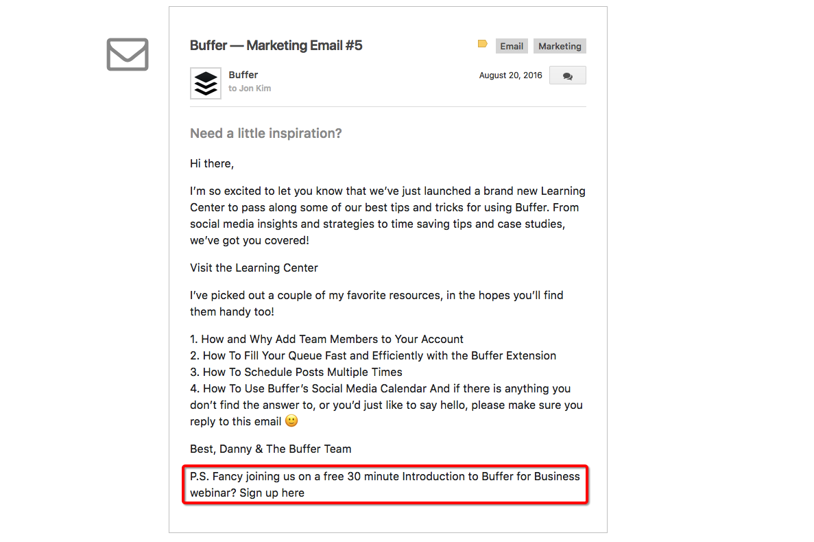 buffer-email-inbound-marketing-saas-companies