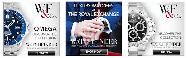 WatchFinder Remarketing Banner