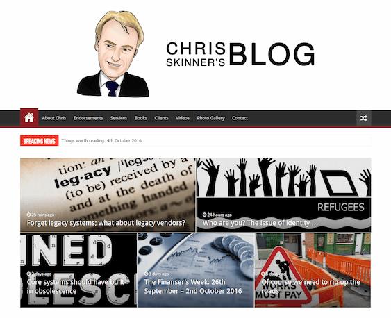 Chris Skinner The Finanser
