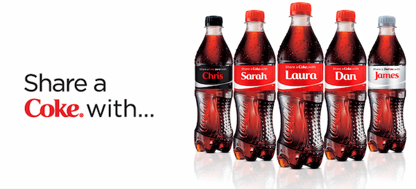 Coca-Cola's campaign became a fantastic source of user-generated content for the brand