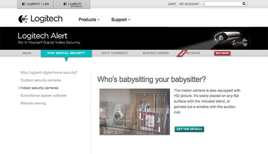 Logitech used fear to boost sales of security cameras