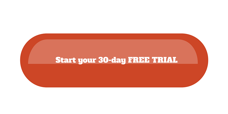 free trial button saas conversions