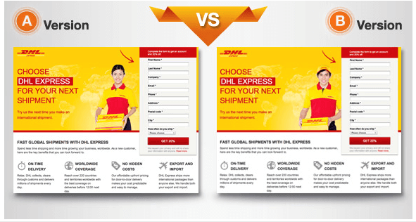 A/B testing small aspects of your landing page to see what performs best can help you build a high-converting offer.
