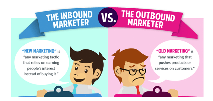 The outbound marketer's pushing sales tactics don't work like they used to