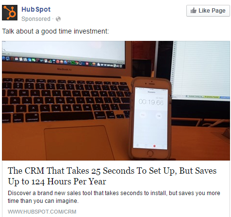 HubSpot use remarketing to address potential sales objections