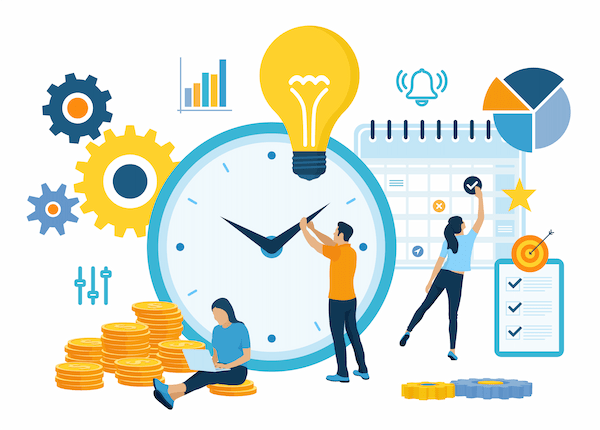 Time management is a key marketing automation benefit