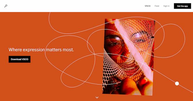 vsco-homepage