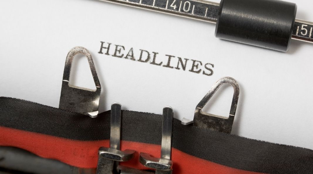 5 Great Ways to create Catchy Headlines