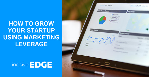 How to Grow your Startup using Marketing Leverage